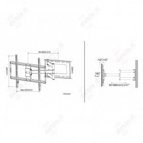 LAICA  Bilancia pesa persone meccanica (EP1130)